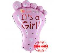 Пяточка для девочки  it`s a girl