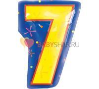 Шар фигура Цифра малая 7