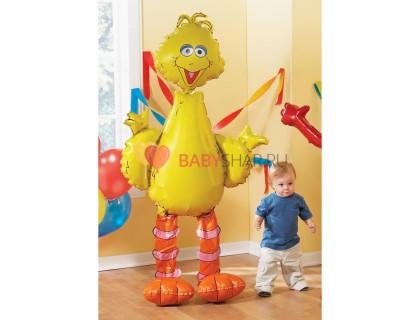 Ходячая фигура Большая желтая птица