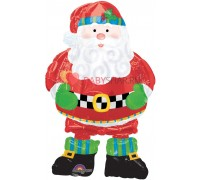 Ходячая фигура Новый год Санта в сапогах