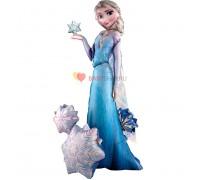 Ходячая фигура Эльза Снежная Королева