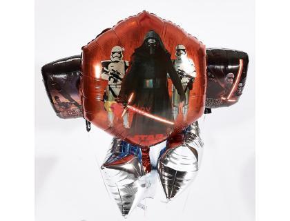 Букет из шаров Звёздные Войны двусторонний