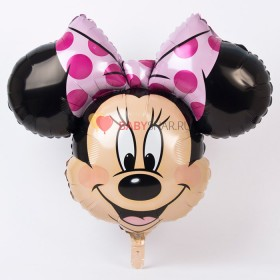 Фольгированный шар голова Минни Мауса