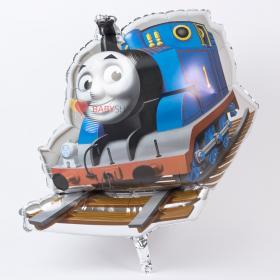 Фольгированный шар паровозик Томас