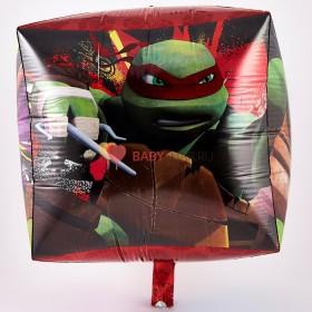 Фольгированный куб Черепашки ниндзя