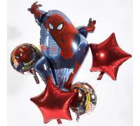 Букет из шаров с Человеком пауком