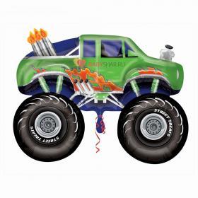 Шар ФИГУРА V80 STREET Джип монстр зеленый