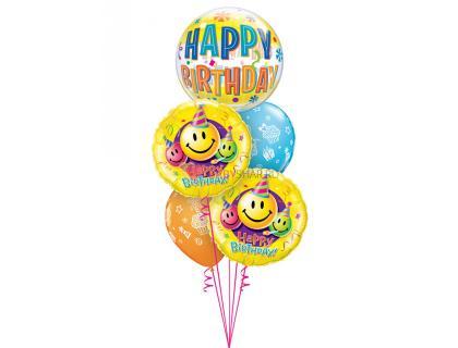 """Букет из шаров  """"Happy birthday"""""""