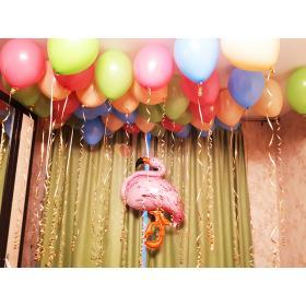 Композиция из шаров Нежный фламинго