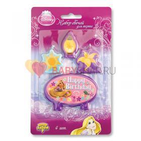 Свечи Disney HB Рапунцель для торта