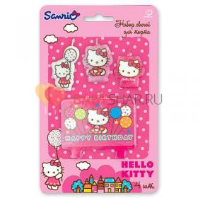 Свечи HB Hello Kitty для торта