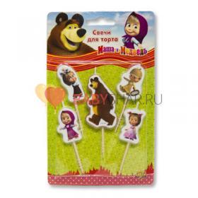 Свечи на пиках Маша и Медведь